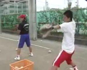 ソフトボールピッチャー育成